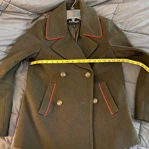 Express Jackets & Coats - NWOT Express red piped pea coat - XS